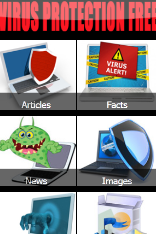 Virus Protection Free - screenshot