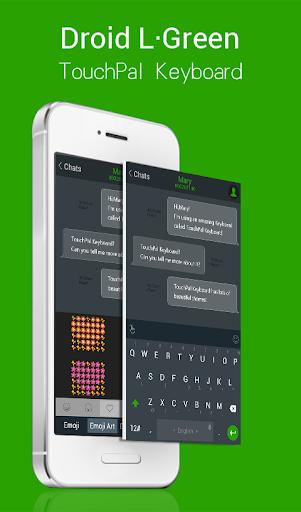 TouchPal Droid L Green Theme