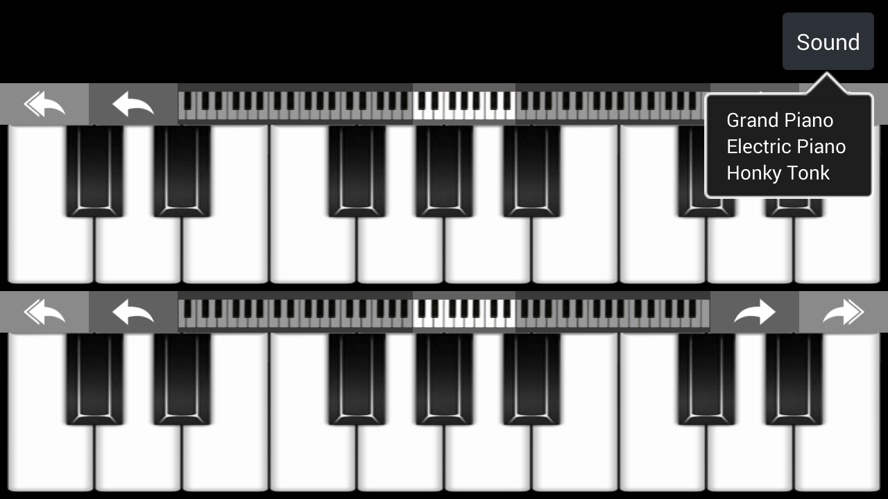 Virtual Piano - screenshot