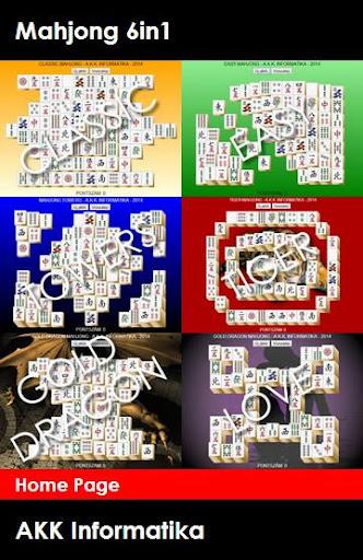 Mahjong Games 6 in 1