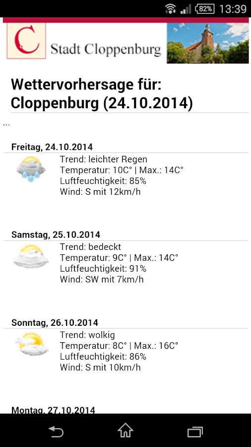 Cloppenburg- screenshot