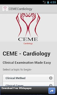 CEME Physical Examination- screenshot thumbnail