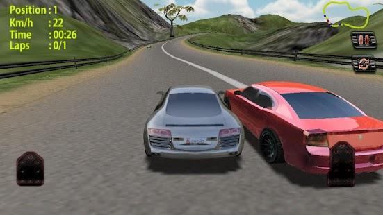 真正的賽車:快速比賽: Real Car Racing 3D