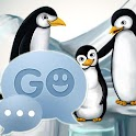 GO SMS Pro Theme pinguins icon