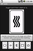 Screenshot of ESP Zener Cards Free