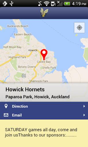 【免費運動App】Howick Hornets Rugby League-APP點子