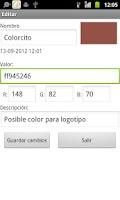 Screenshot of ColorSelector