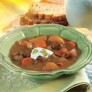 Slow-Cooker Beef and Vegetable Soup.