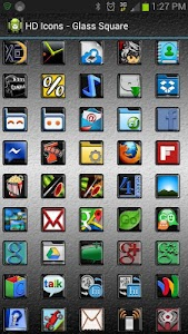 HD Icons: Glass Square v1.0.1