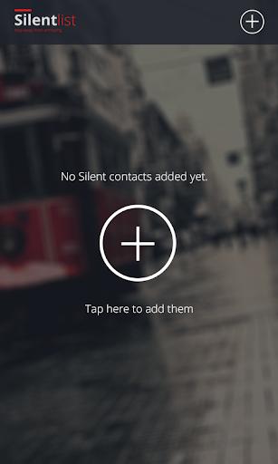 【免費通訊App】Silent List-APP點子