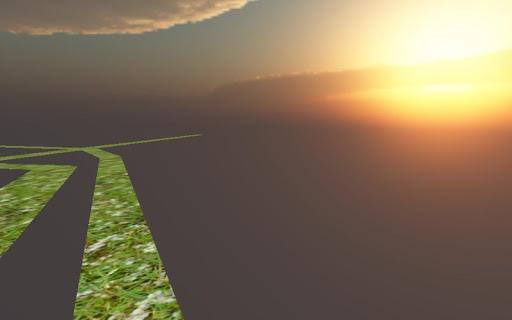 Labyrinth sky 3D