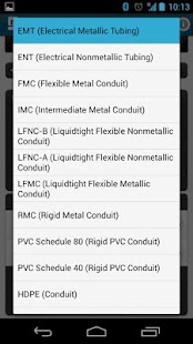 Conduit fill tracker android apps on google play conduit fill tracker screenshot thumbnail greentooth