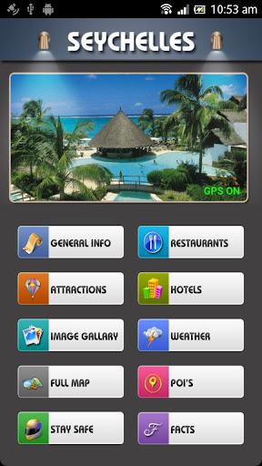Seychelles Offline Map Guide