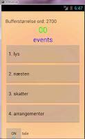 Screenshot of Engelsk for der taler dansk