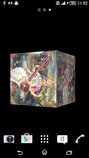 Saraswati Devi Cube LWP