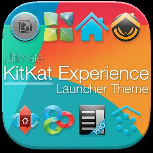 KitKat 4.4 Launcher Theme v1.96 APK