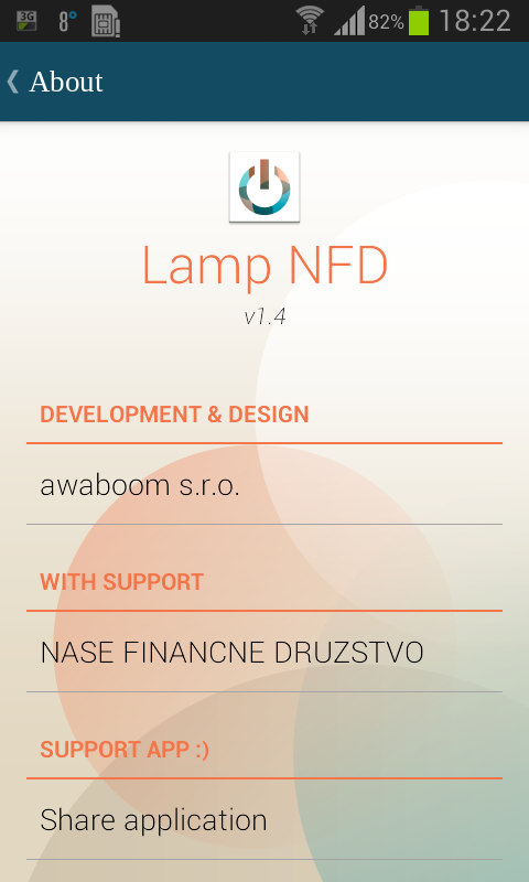 Lamp NFD- screenshot