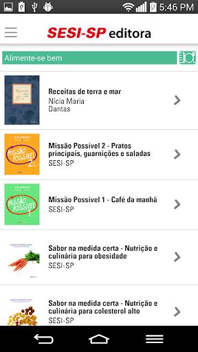 【免費書籍App】Livros SESI SP-APP點子
