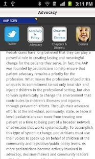 American Academy of Pediatrics- screenshot thumbnail