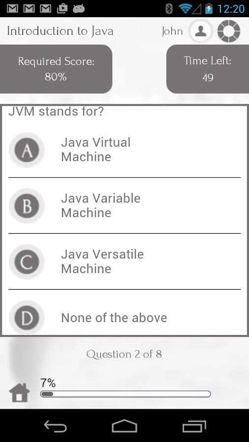 Java Programming via Videos - screenshot