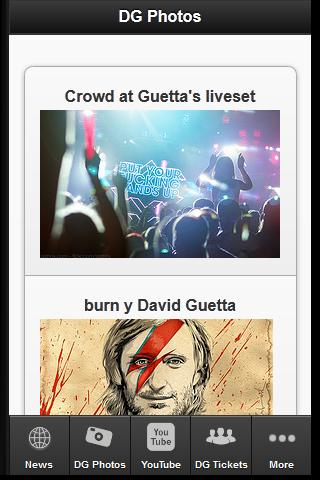 David Guetta Fan MOB - screenshot