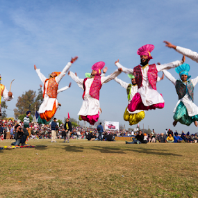 Bhangra - The Energetic Dance from Punjab by Ajay Sood - News & Events Entertainment ( punjab, kila raipur, rural olympics, ajay, sood, bhangra, travelure, dance, ludhiana, energy, rural sports )
