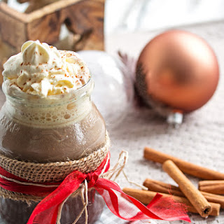 Favorite Gingerbread Spiced Hot Chocolate