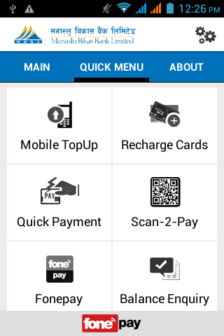 Manaslu Mobile Banking