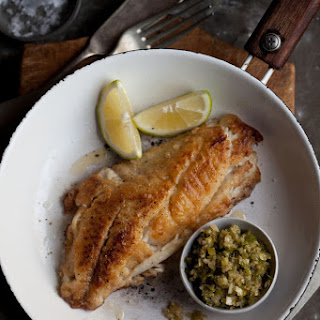 Pan Fried Line Fish with a Ginger Scallion Sauce Recipe