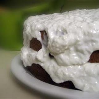 Coconut Sour Cream Cake.