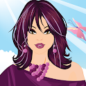 Flower Power Make Up Game logo