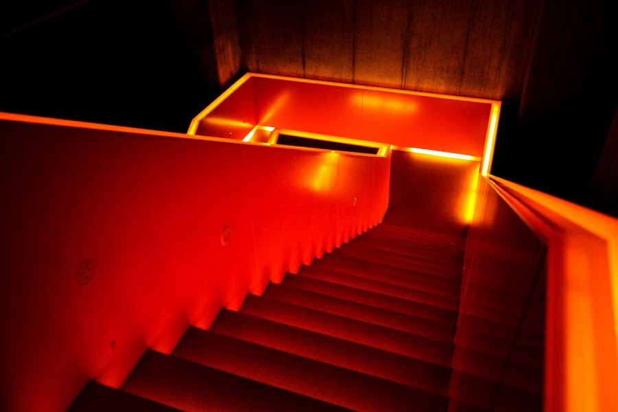 Stairway to Hell by Jernej Lah - Buildings & Architecture Architectural Detail ( lights, nemčija, ruhr museum, ekskurzija, germany, #GARYFONGDRAMATICLIGHT, #WTFBOBDAVIS,  )