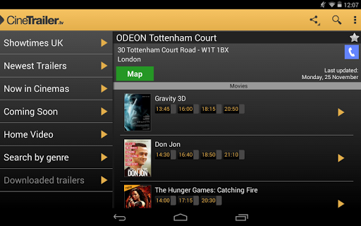 CineTrailer Cinema & Showtimes 4.0.46 screenshots 18