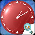 Love Circle Clock WIdget