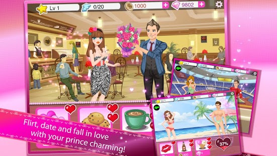 Star Girl: Valentine Hearts - screenshot thumbnail