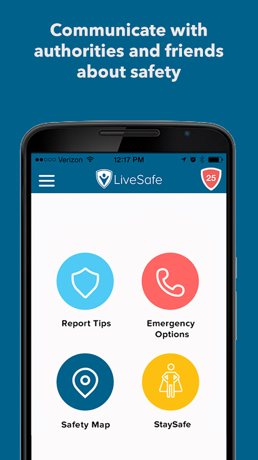 LiveSafe- screenshot