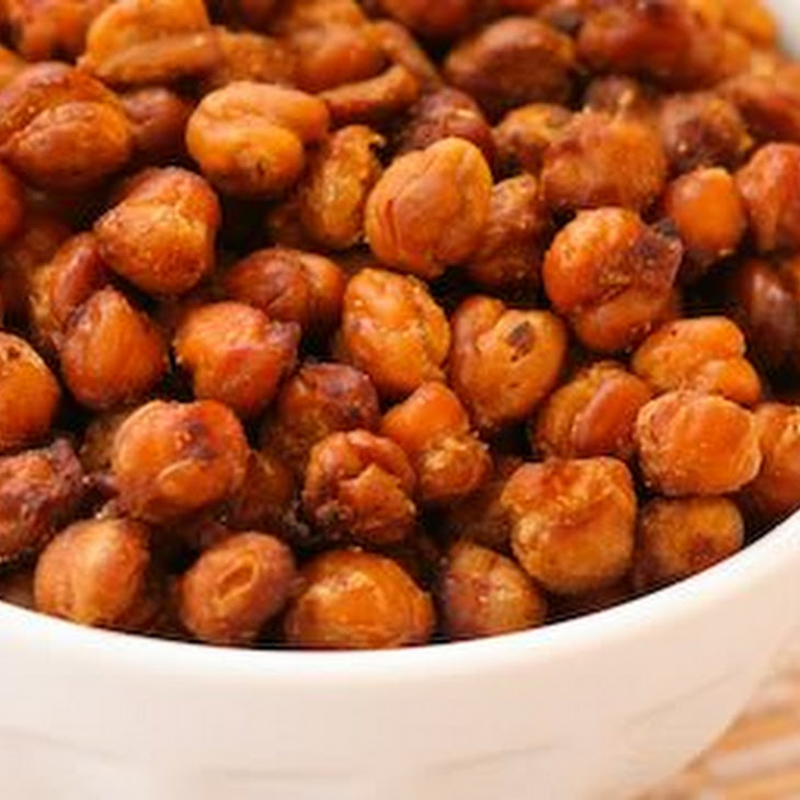Recipe for Chickpeas (Garbanzo Beans) Roasted with Tamari and Sea Salt