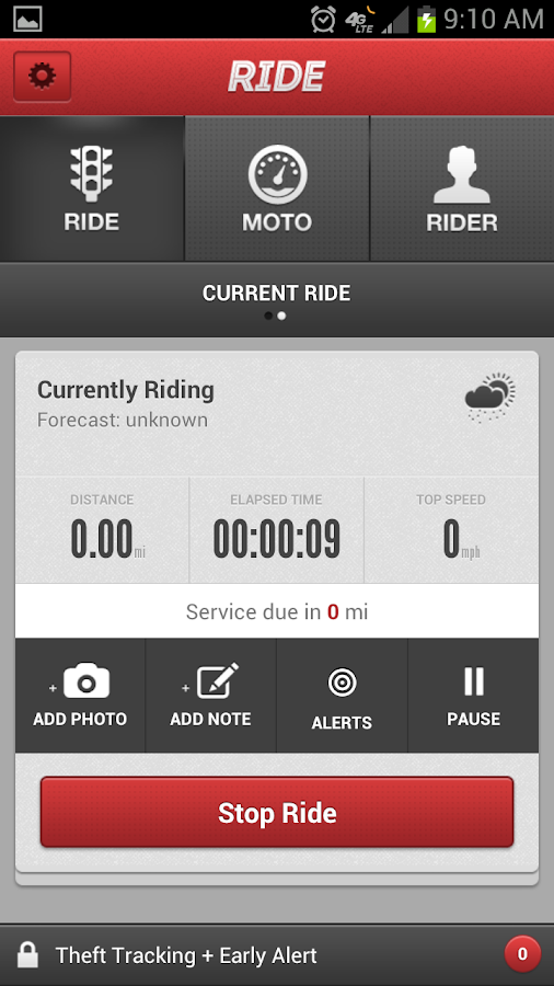 Ride - screenshot
