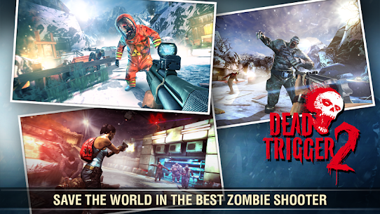DEAD TRIGGER 2 – Zombie Survival Shooter Mod 1.7.06 Apk [Unlimited Money] 6