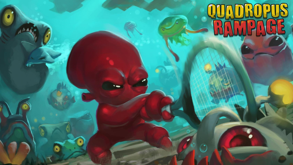 Quadropus Rampage- screenshot