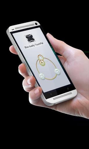 玩個人化App|Blue duality TouchPal Theme免費|APP試玩