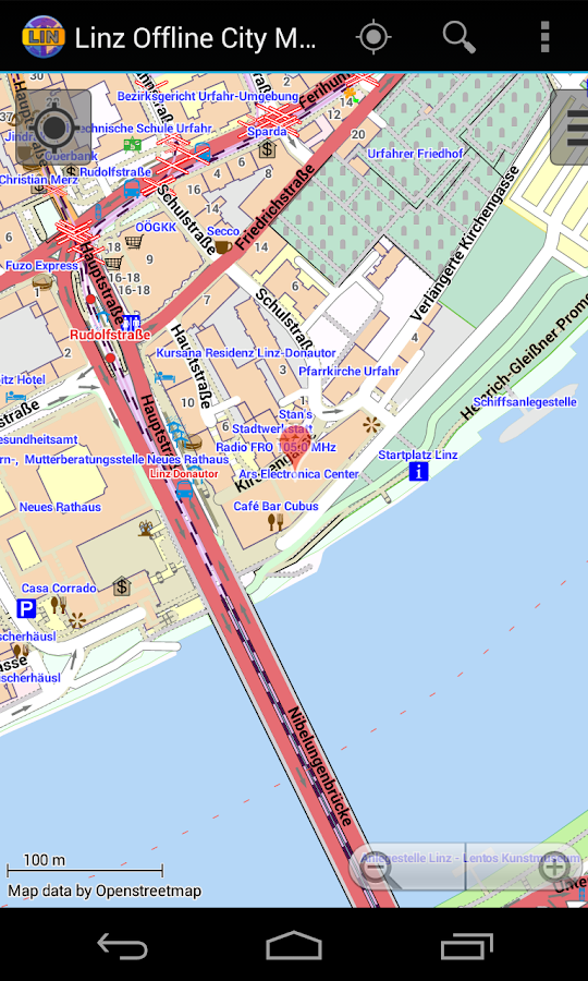 Linz Offline City Map- screenshot