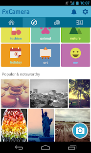 FxCamera - a free camera app - screenshot thumbnail