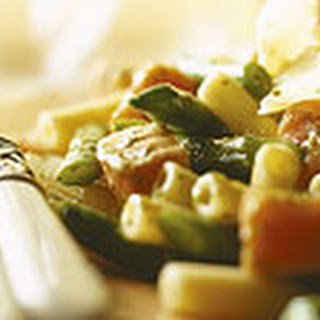 Pasta Met Pesto En Zalm