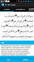 Screenshot of Al-Mathurat