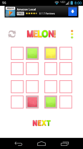 MELON : A Color Puzzle Game