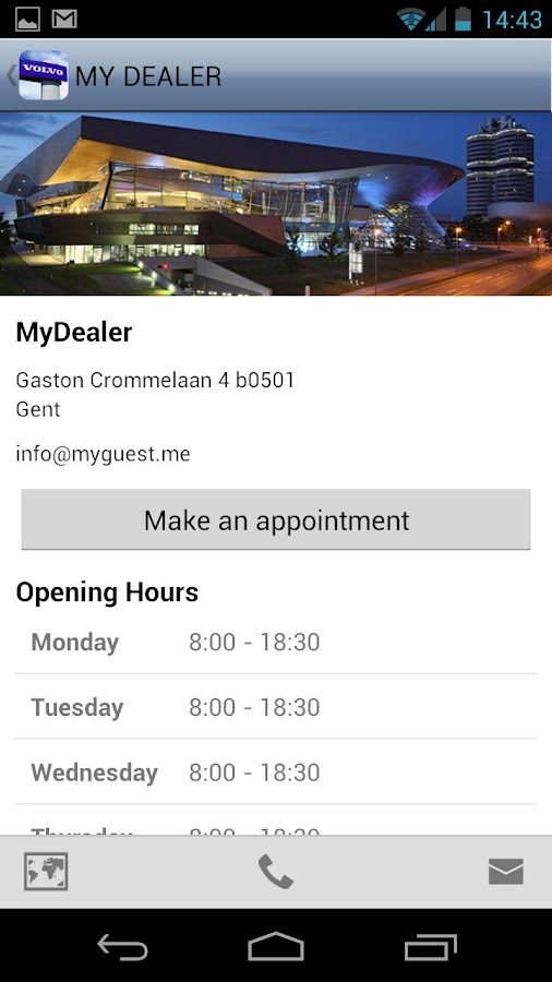 Me@MyVolvoDealer- screenshot
