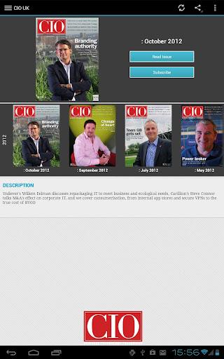 【免費商業App】CIO UK-APP點子