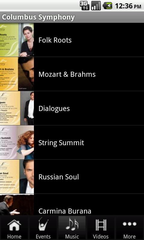 Columbus Symphony - screenshot