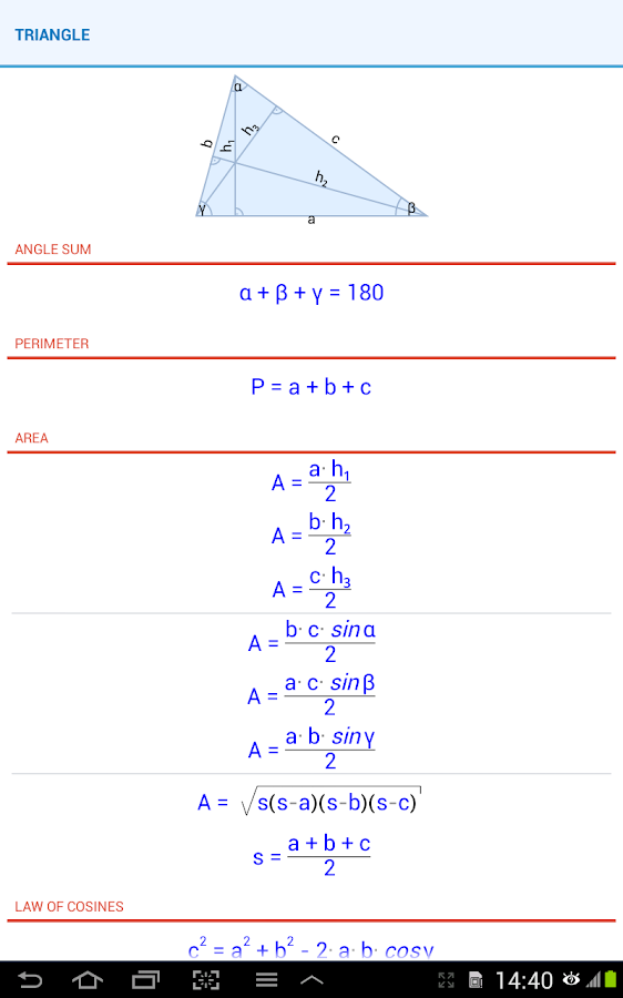 Geometry Solver Pro - Android Apps on Google Play